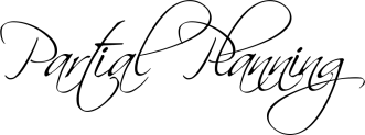 partial font